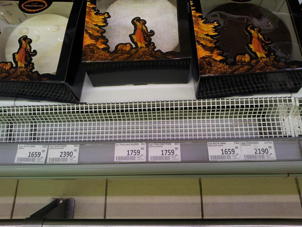 Цены в Перекрестке