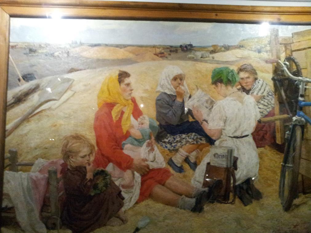 Советские художники ВДНХ